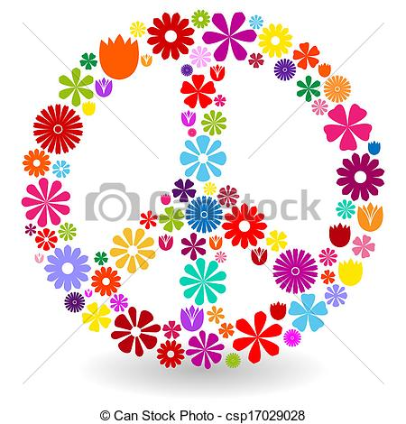Peace clipart vector Peace of or of
