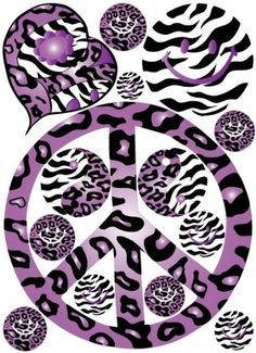 Peace Sign clipart zebra On WALLPAPERS✌☮ SIGN about PEACE