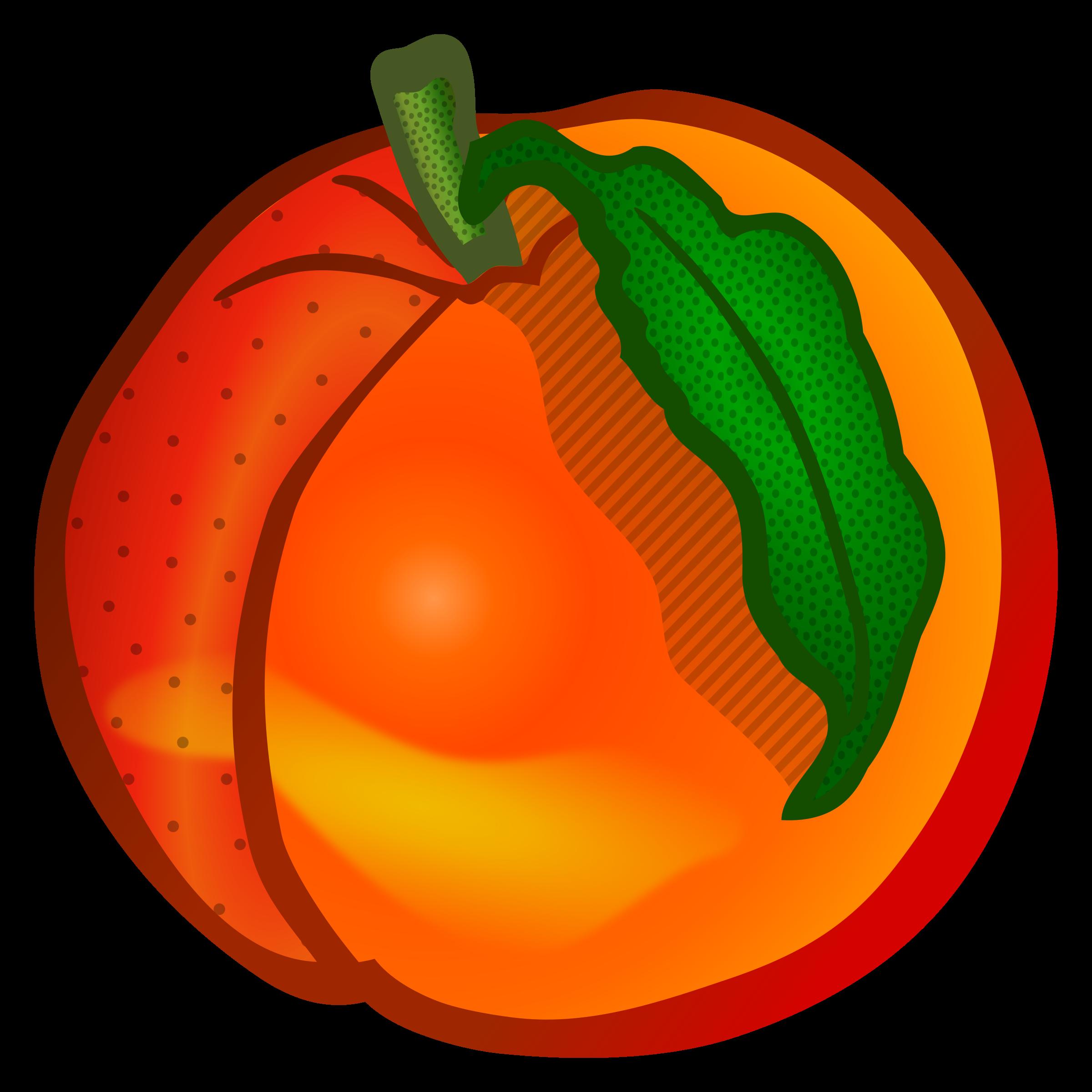 Capsicum clipart colour Image image Clipartix clipart Peach
