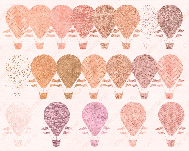 Peach clipart balloon Peach Hot Commercial HOT AIR