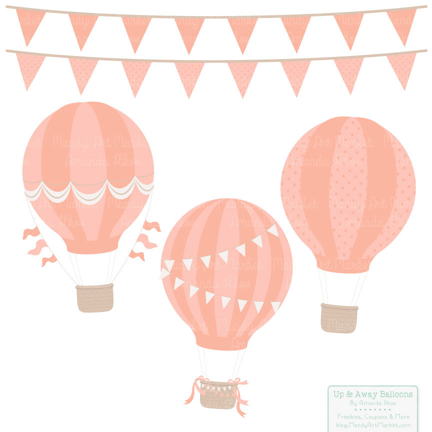 Peach clipart balloon Papers file This Balloons Mint