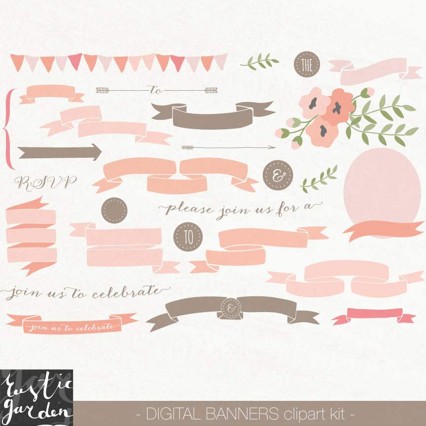 Peach clipart banner  file brown is in