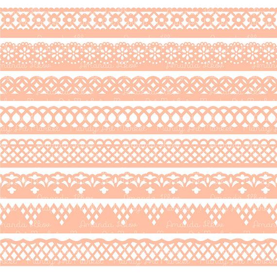 Peach clipart border Clipart Cliparts Clip Art Free
