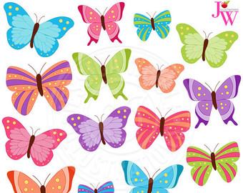 Peach clipart butterfly Cute Butterfly Art Pink Butterflies