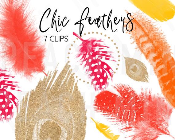 Peach clipart chico Peach Feathers Glitter Glitter Strokes