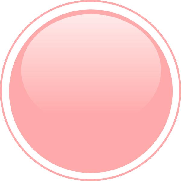 Peach clipart circle Button Art Peach Glossy Download