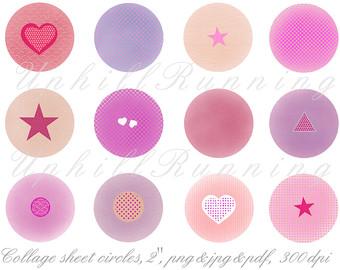 Peach clipart circle Clipart sheet circles clipart paint