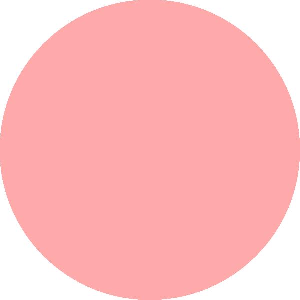 Peach clipart circle As: Pink  this Circle