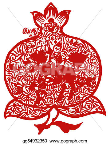 Peach clipart cut Clipart gg54932350 Chinese in kirin
