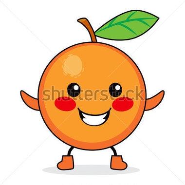 Peach clipart cute Cute Orange orange Cute Fish