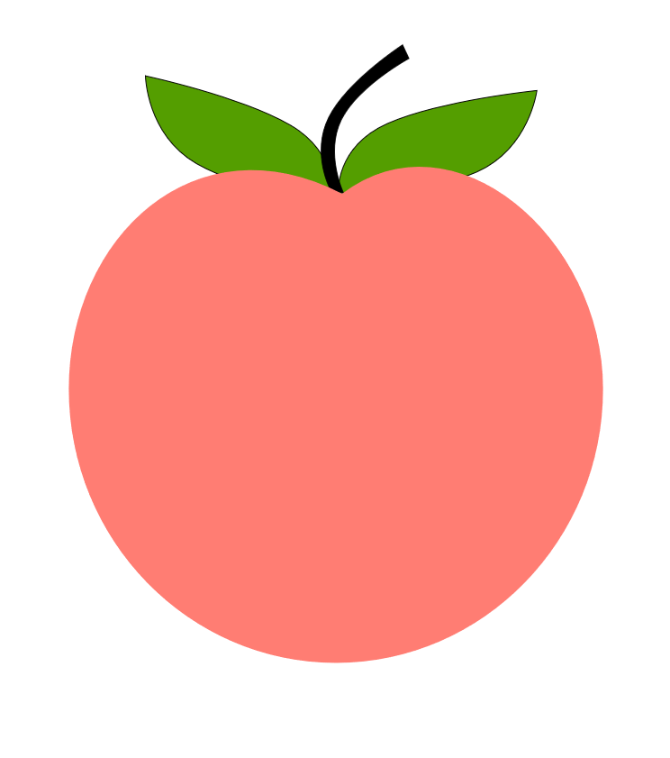 Peach clipart happy Holy Let of  of