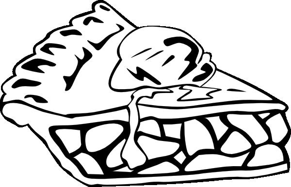 Pie clipart outline Panda Clipart Clipart Free Black