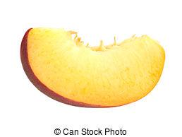 Peach clipart peach slice Slice Peach Peach Stock 8