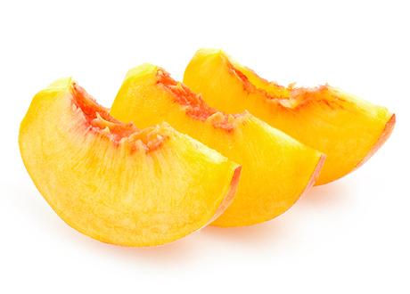 Peach clipart peach slice Peach Peaches Sliced Clip Art