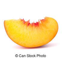 Peach clipart peach slice Stock Ripe Ripe Photos 547