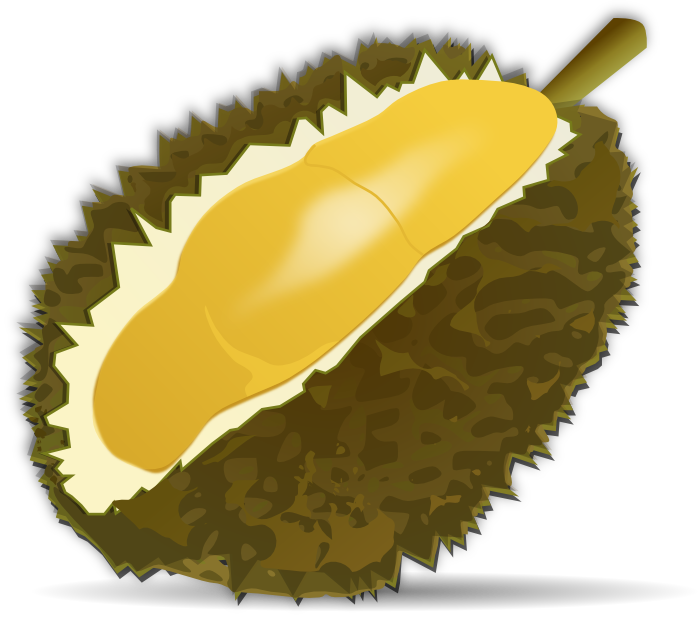 Peach clipart single fruit Durian and Animations Clipart Free
