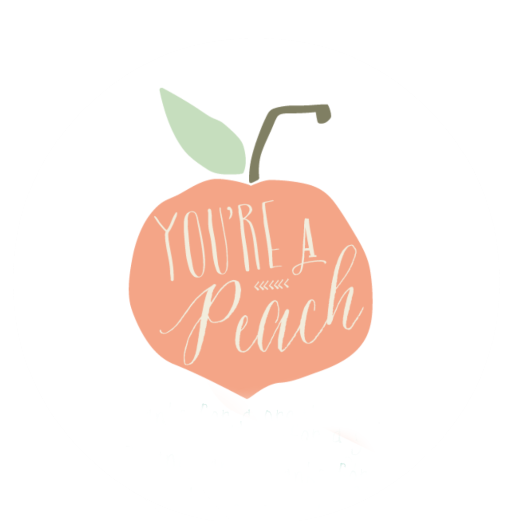 Peach clipart you re You're Idea a Gift You're