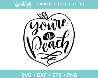 Peach clipart you re You're a a You're File