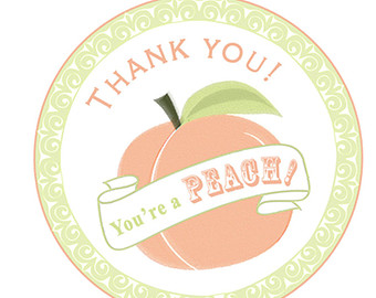 Peach clipart you re YOU'RE A Etsy You're PEACH