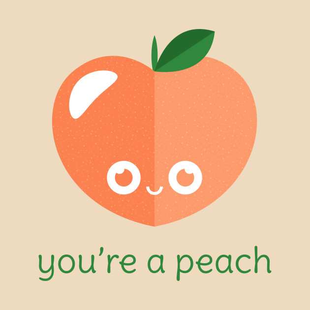 Peach clipart you re  You're Mug a Peach
