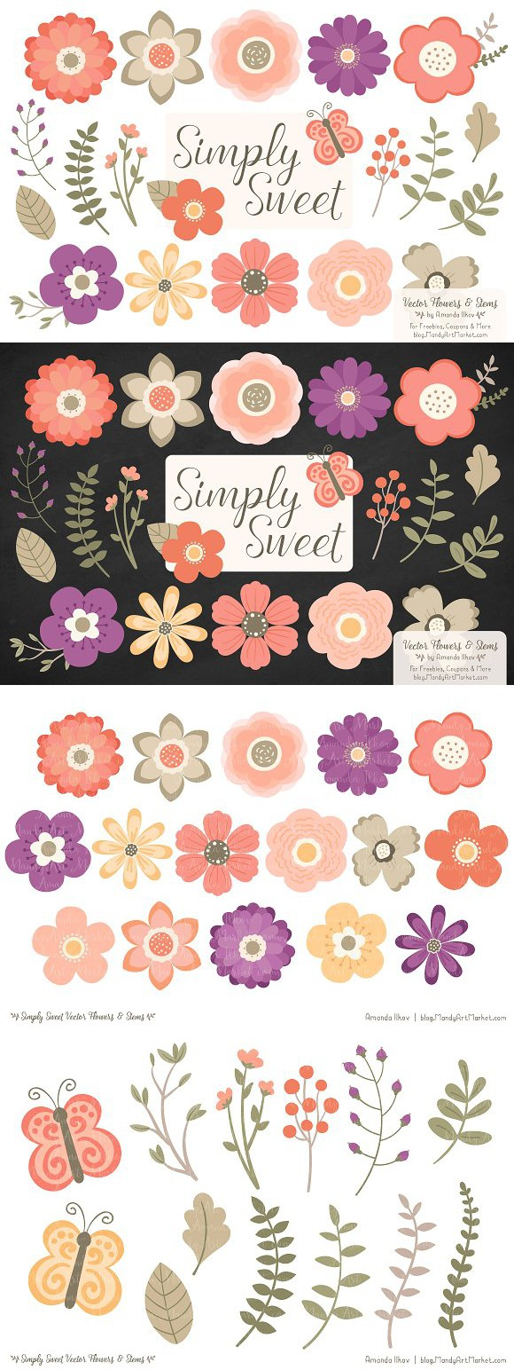 Peach Flower clipart antique flower Clipart and Antiques Flowers Clipart
