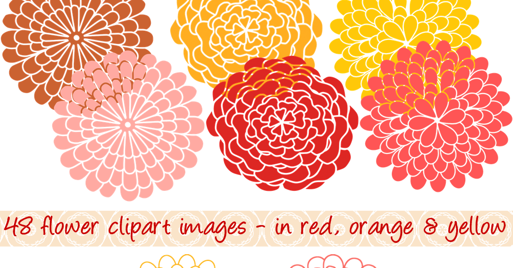 Peach Flower clipart mums flower In Styles Flower Color