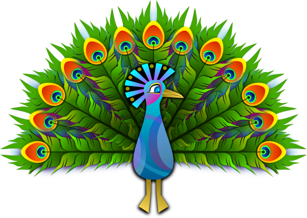 Peacock clipart fotosearch To Clipartix Peacock Peacock Pictures