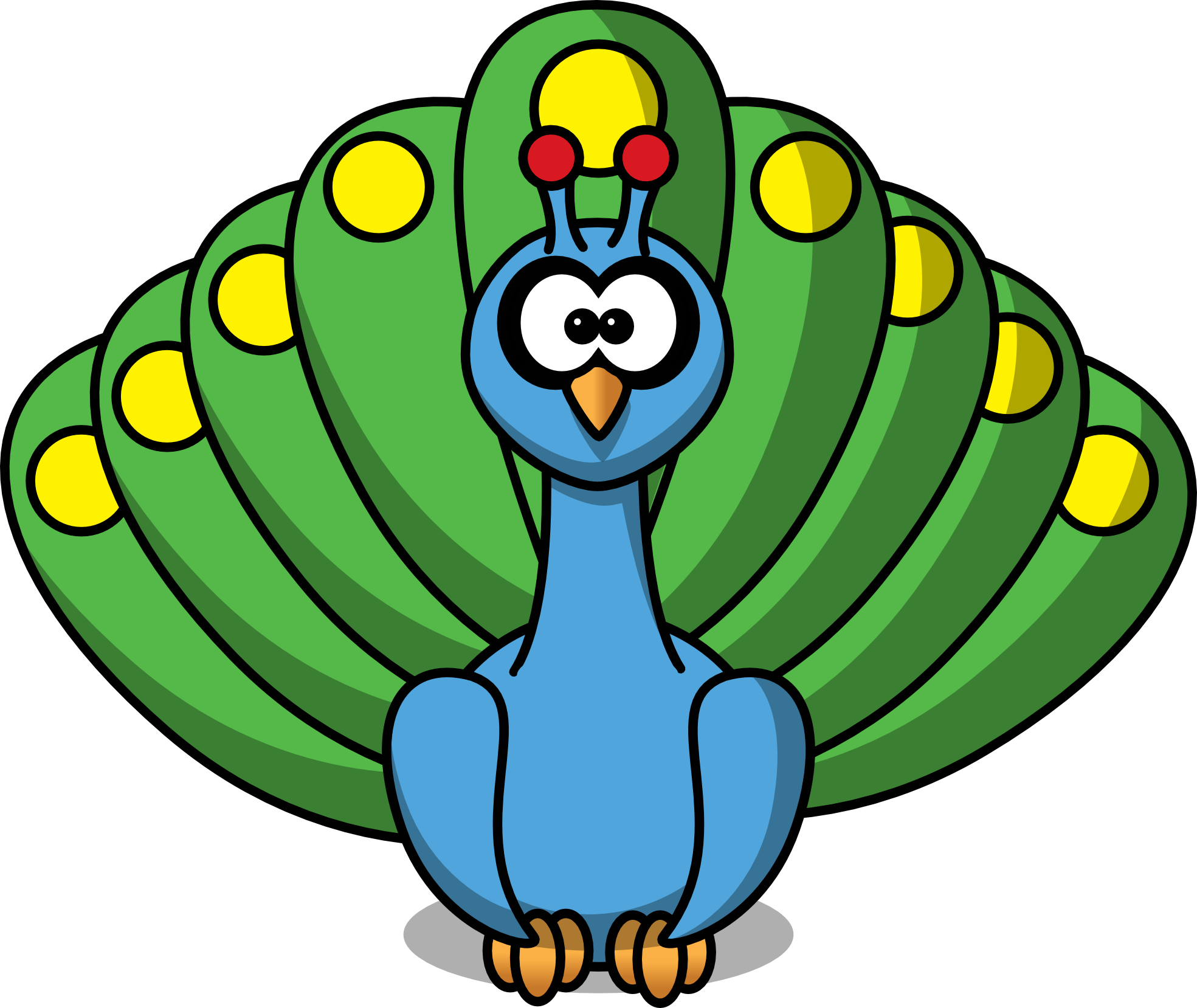 Peacock clipart vector Free Panda peacock%20clipart%20free Images Peacock