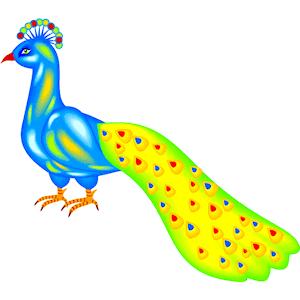 Peacock clipart animated Peacock Clipart Cartoon Peacock Animation