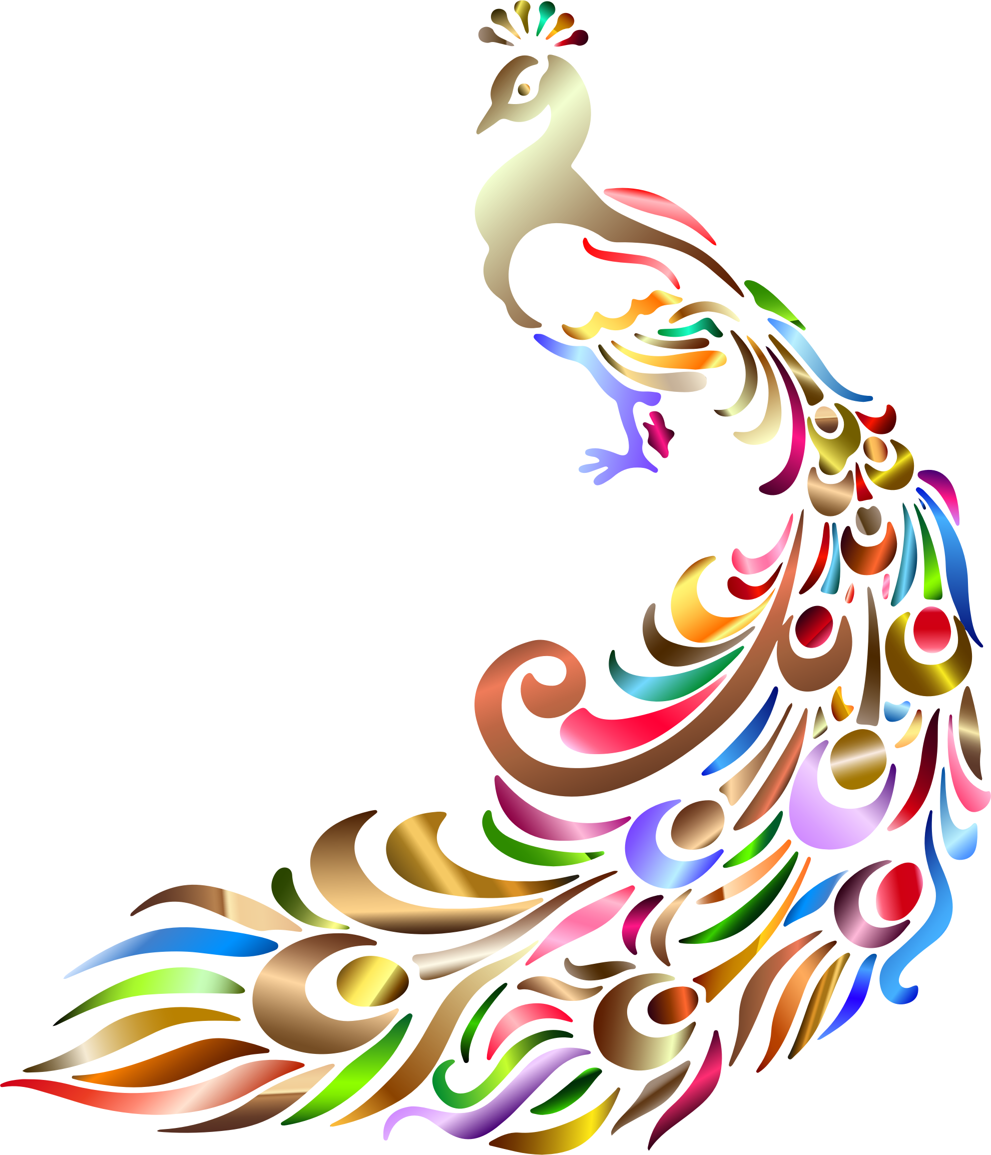 Peacock clipart background No Chromatic Chromatic Background No