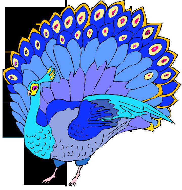 Peacock clipart beak Clipartix Peacock clip Cliparting peacock