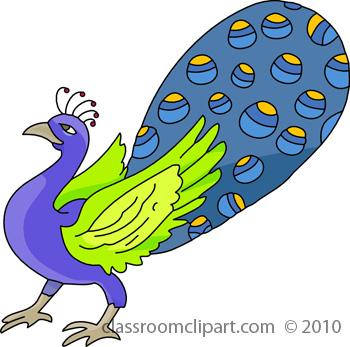 Peacock clipart beak 2 Peacock clip Art art