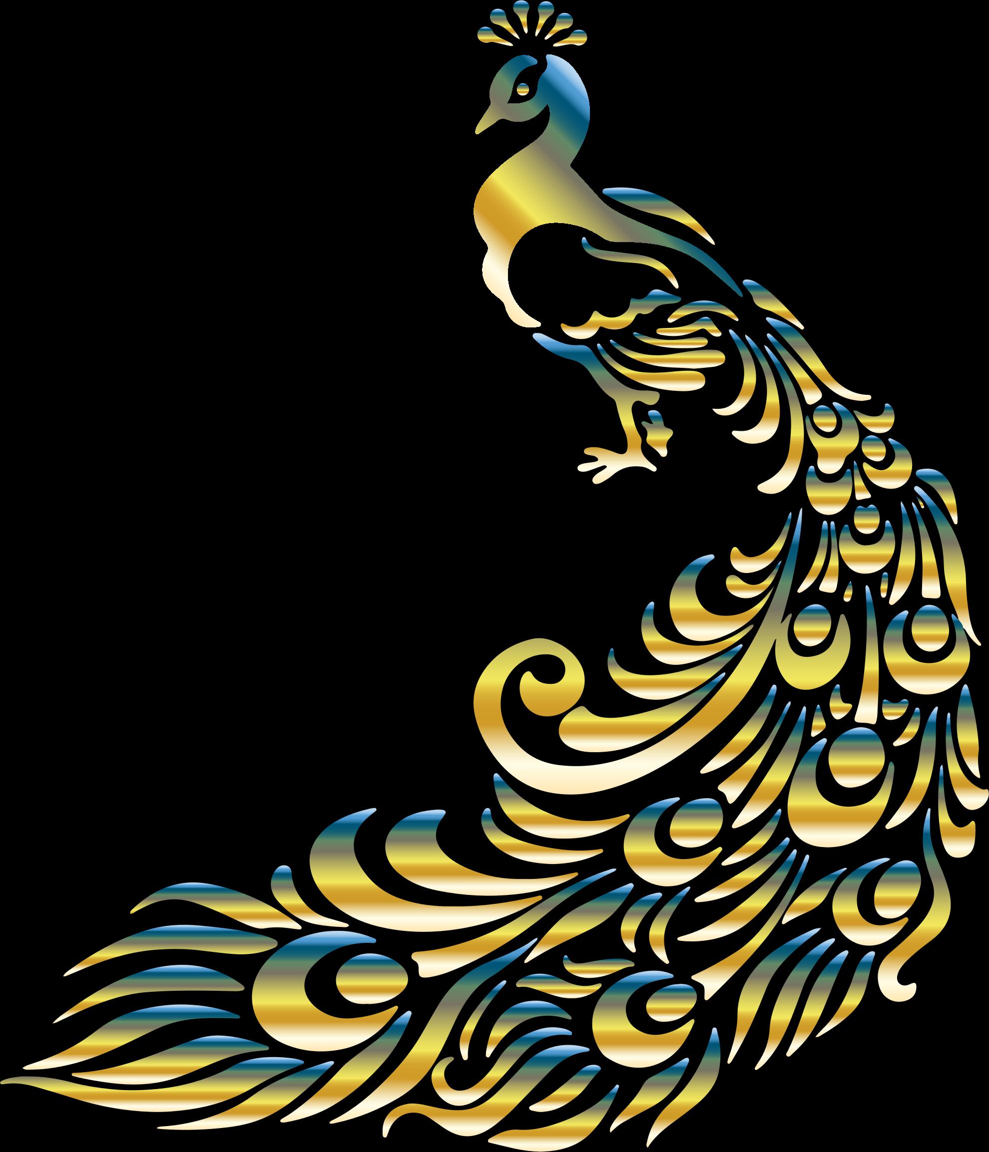 Peacock clipart big No Peacock BIG 4 Clipart