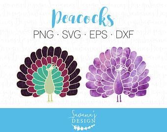 Peacock clipart big Sister Peacock File Cut SVG