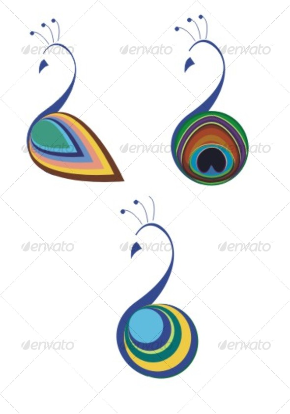 Peacock clipart graphic design DesignPeacock VectorGraphic Peacock and FeathersFeather