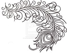 Peacock clipart tribal Find peacock and this Symbol