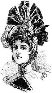Peacock clipart victorian Victorian art styles clip antique