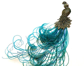 Peacock clipart victorian Peacock feather (1 Peacock plume