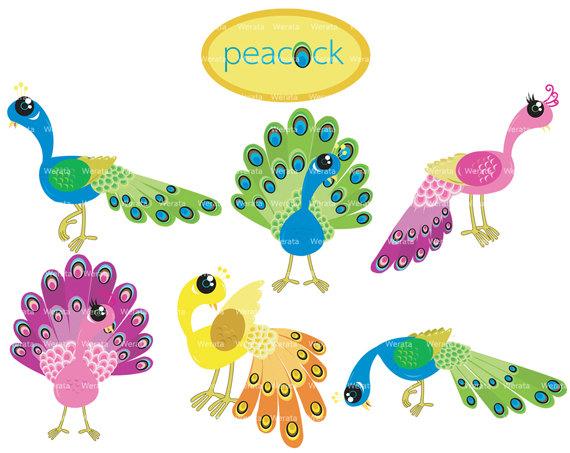 Peafowl clipart cute Clipart Clip Cliparting 5 3