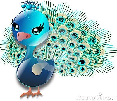 Peafowl clipart cute 400×344 more worldartsme 1 pixels