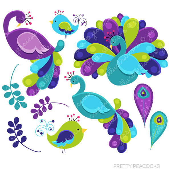 Beautiful clipart peacock Item? Pretty Like for Commercial