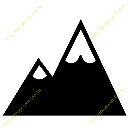Peak clipart Clipart Clipart Mountains Panda Free