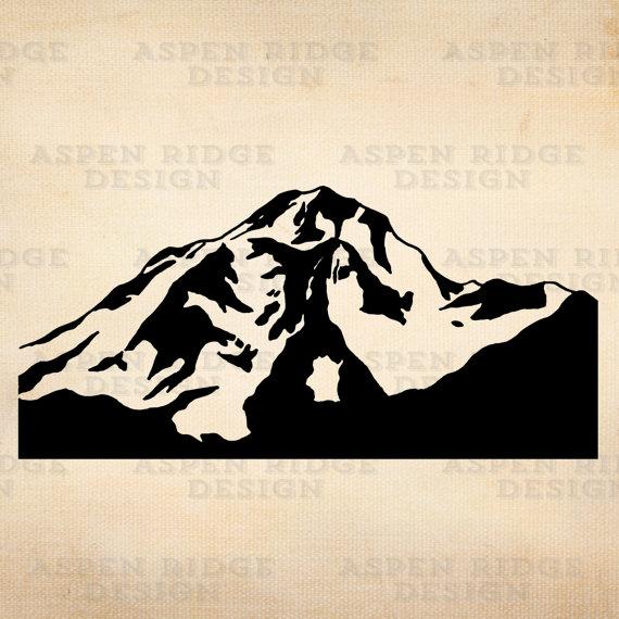 Peak clipart glacier Glacier Mountain Vector Art Download