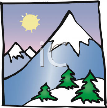 Peak clipart montain Polskisport of Mountain Clip Pictures