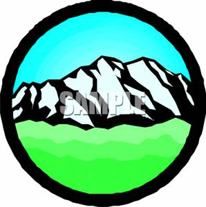 Peak clipart montain Royalty Clipart Picture Mountain Clipart