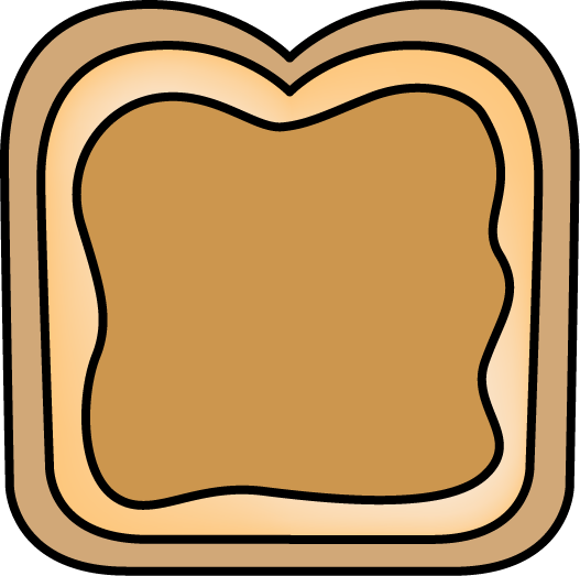 Butter clipart peant With Jelly Images Art Bread