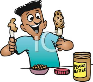 Peanut Butter clipart baby peanut Cliparts Peanut Peanut Butter Eating