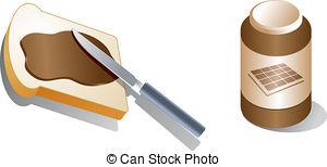 Peanut Butter clipart bread clipart Illustration butter Bread  Stock