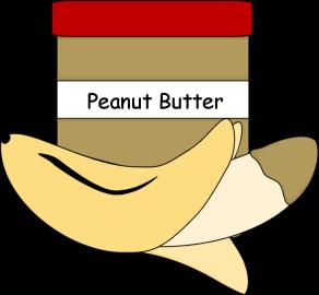 Peanut Butter clipart cartoon Banana Art Clip Butter Butter