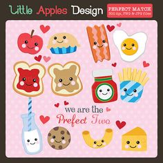 Peanut Butter clipart cute Pair including graphics ClipArt set